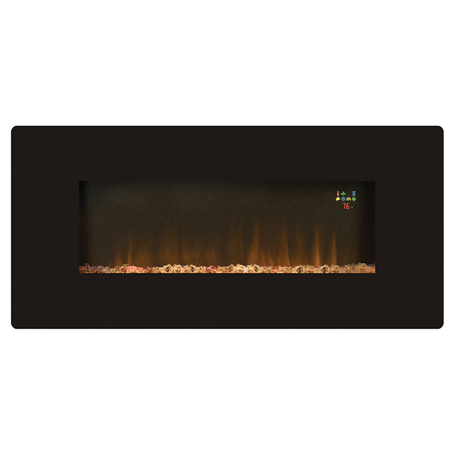 """Prato"" Wall Mount Electric Fireplace"