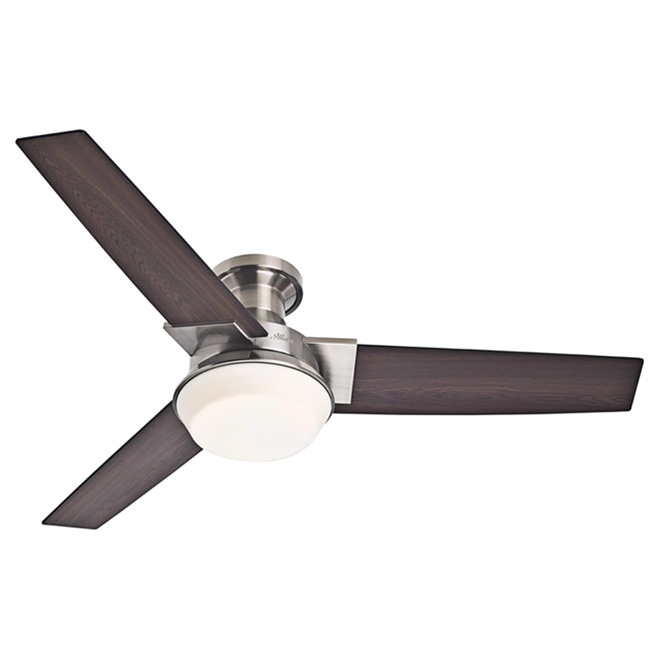 """Morelli"" 1-Light 3-Blade Ceiling Fan - 52"""