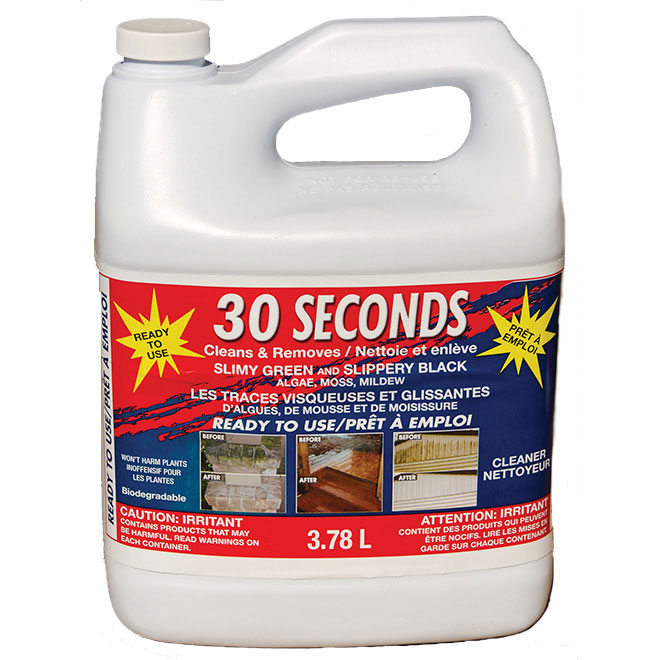 "Outdoor Cleaner - ""30 Seconds"" - 3.78 L"