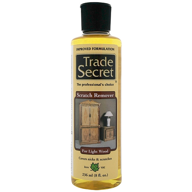 Light Wood Scratch Remover