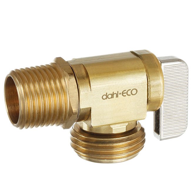 Hose and Boiler Angle Valve Drain