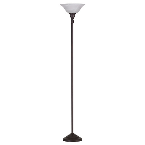 "Torchiere Lamp 72"" - Bronze"