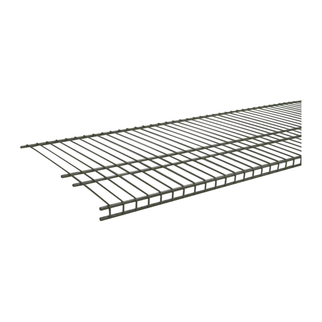 """SuperSlide"" Wire Shelf 16"" x 48"" - Nickel"