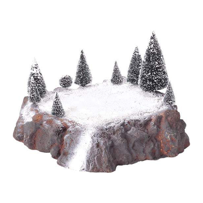 Snow Covered Plateau - Village Accessory