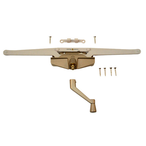 Copper Finish Metal Roto Gear Operator Awning - 16 1/8""