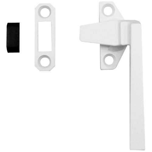 White Finish Casement Locking Handle - Right Handed