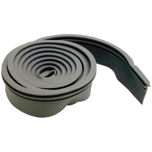 "Shower Door Bottom Seal, 3/4"" x 36""- Grey"