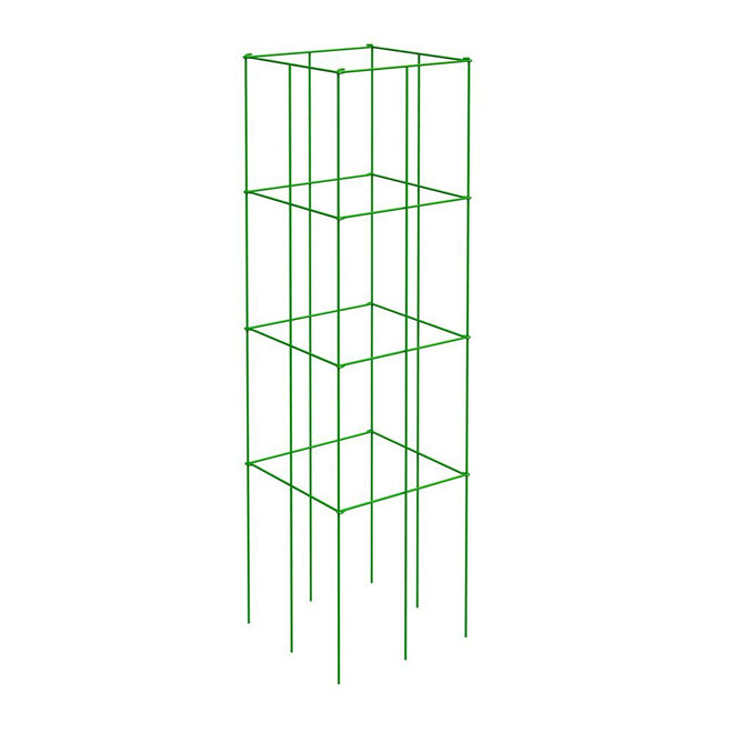 "Tomato and Plant Support Tower 47"" - Green"