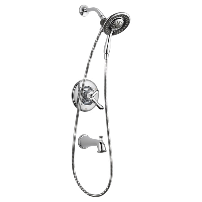 "1-Handle Bath and Shower Faucet ""Linden"""