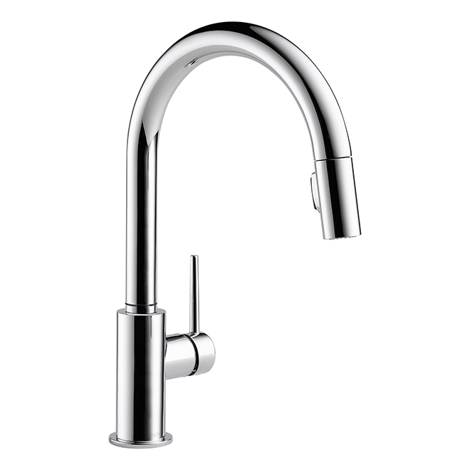 """Trinsic"" Pull-Down Kitchen Faucet - Chrome"