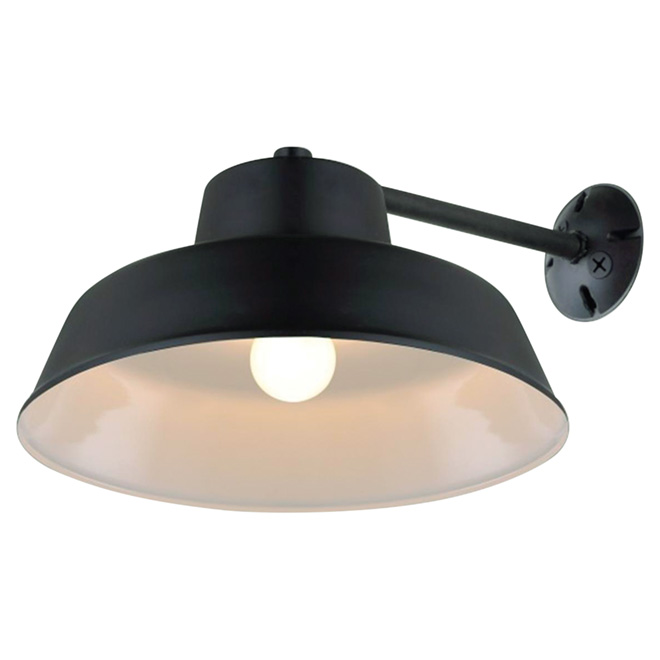 1 light outdoor wall light campbell rona