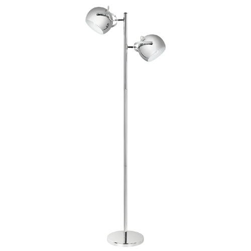 "Floor Lamp 60"" - Chrome"