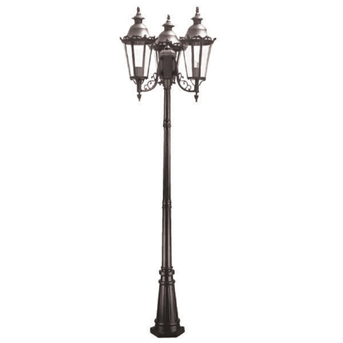 lampadaire exterieur 3 tetes affordable faro lampadaire extrieur double muffin faro ip. Black Bedroom Furniture Sets. Home Design Ideas