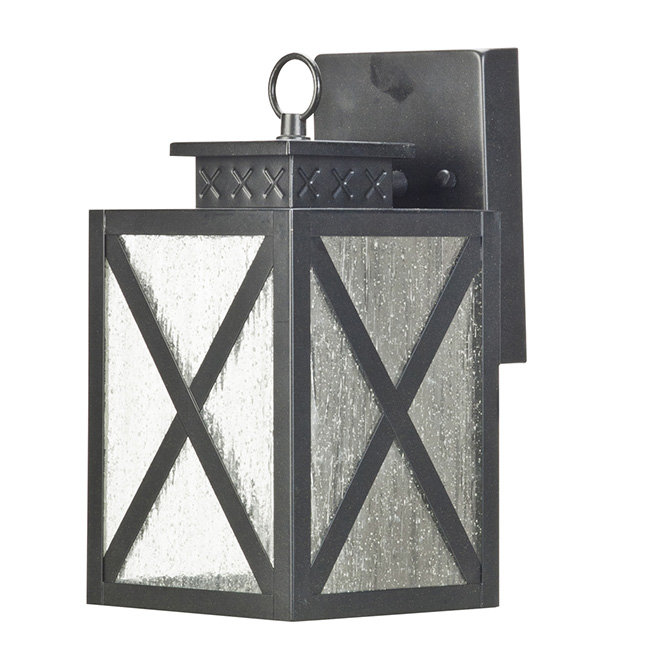 LED Outdoor Wall-Mount Lantern - 10 3/4""