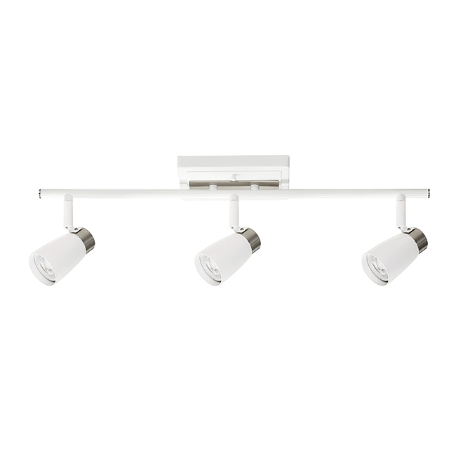 Track light 3 spot lights 50w white rona track light 3 spot lights 50w white aloadofball Images