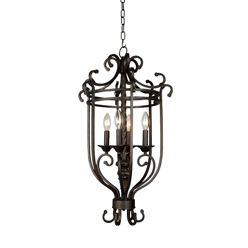 """Savoy"" 4-Light Chandelier"