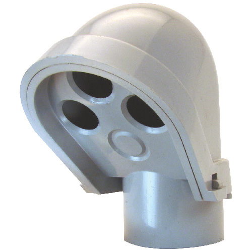 Service Entrance Head - PVC - Rigid - 1 1/4""