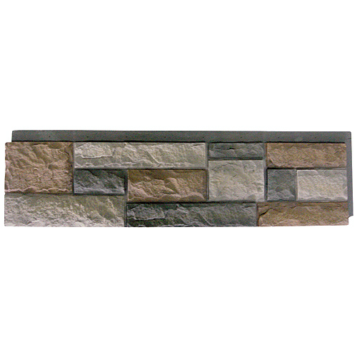 "Panels - ""Rock Face"" Polyroche Siding Panels"