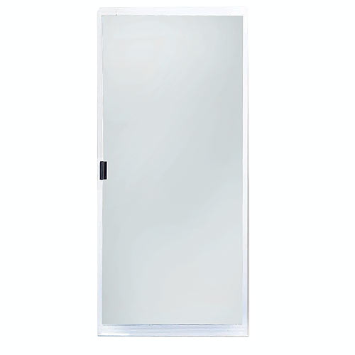 Adjustable Patio Screen Door White Rona