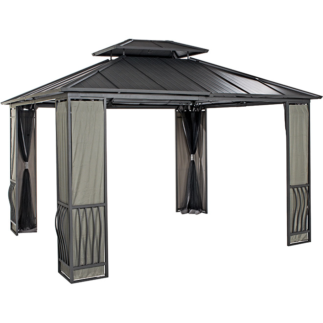 Sun shelter rona for Abri mural sun shelter
