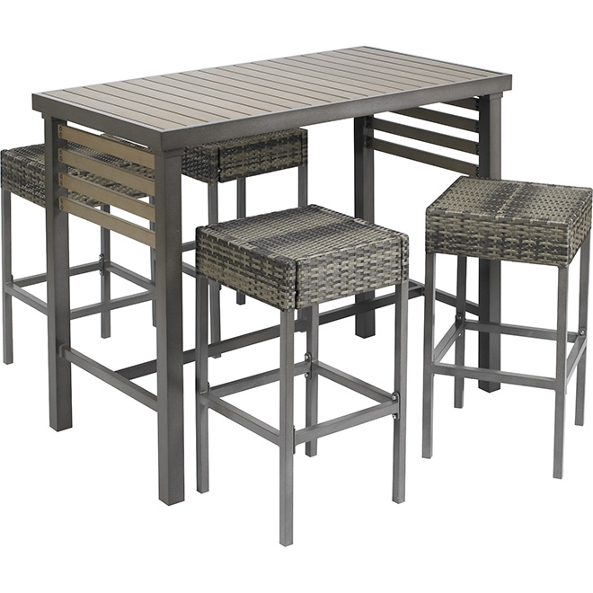 5-Piece Outdoor Bar Set