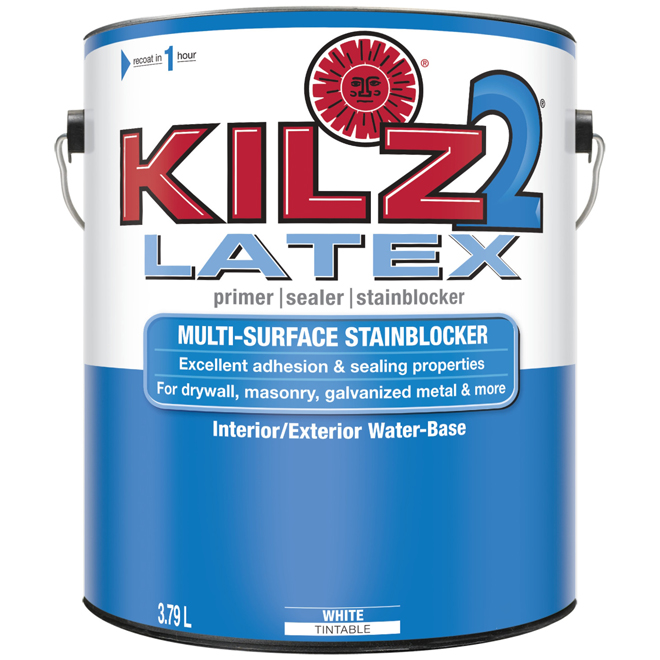 Kilz exterior latex primer sealer rona for Kilz kilz 2 interior exterior latex primer