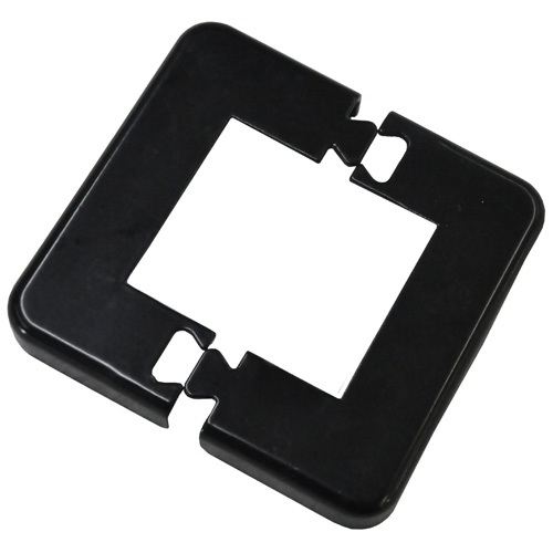 Railing Base Plate Cover - Black