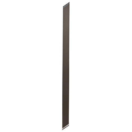 Aluminum Straight Wide Stair Picket 6-Pack - Bronze