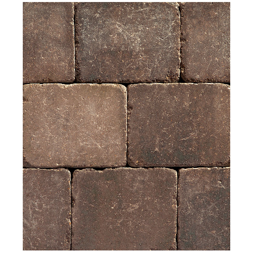 """Roman"" Paving Stone 8 1/4"" x 10 5/8""-Antique Brown"