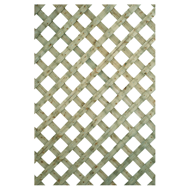 """Traditional"" Pressure-Treated Lattice"