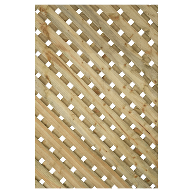"Lattice - ""Super privacy"" Pressure-Treated Lattice"