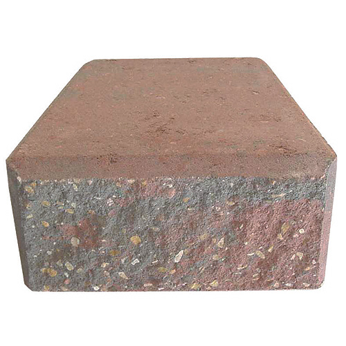 "StackStone Wall Cap 4"" x 8"" - Grey"