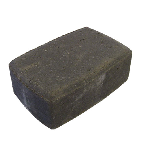 "Cobble Paving Stone 4 1/2"" x 6 3/4"" - Charcoal"