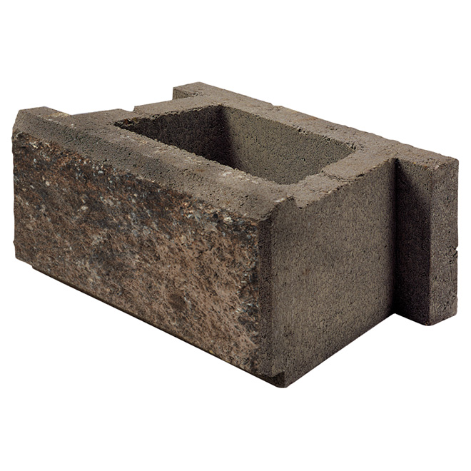 """Allan Block (AB) Classic"" Wall Block - Rocky Mountain"