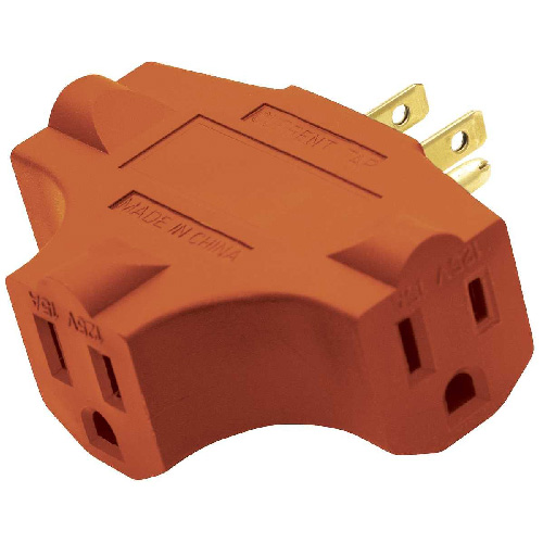 ADAPTER 3 OUTLETS