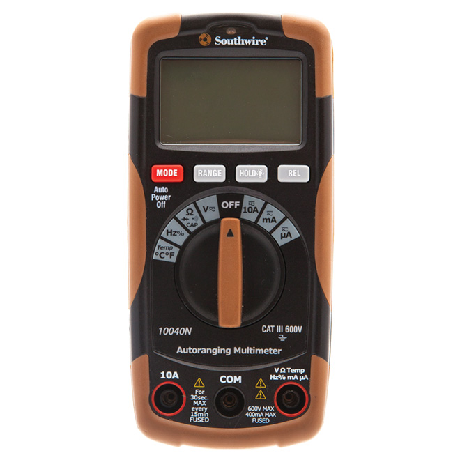 Auto-Ranging Multimeter Cat III