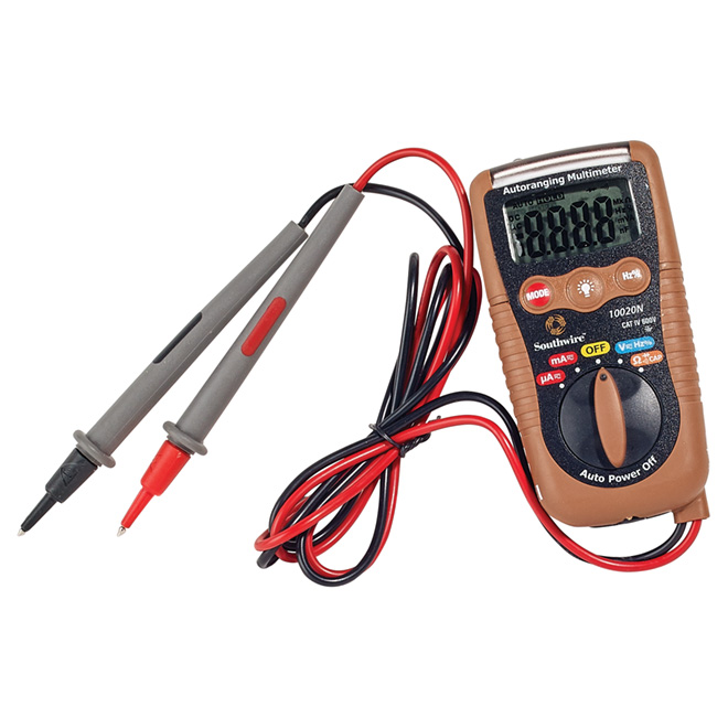 3-in-1 Pocket Multimeter Cat IV