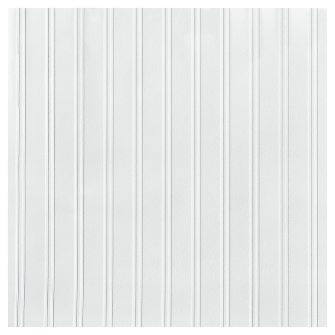 "Paintable Wallpaper- 20.5"" x 33' - White"