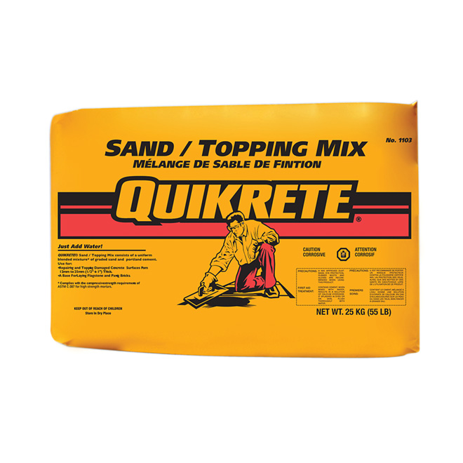 """Quikrete"" Sand / Toping Mix 25 kg"