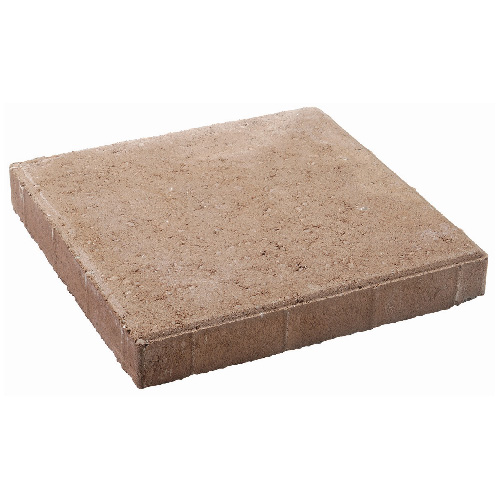 "Slab Square Patio Stone Tile 12"" x 12"" - Red"