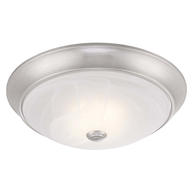 Dimmable flush mount light led brushed nickel rona dimmable flush mount light led brushed nickel aloadofball Images