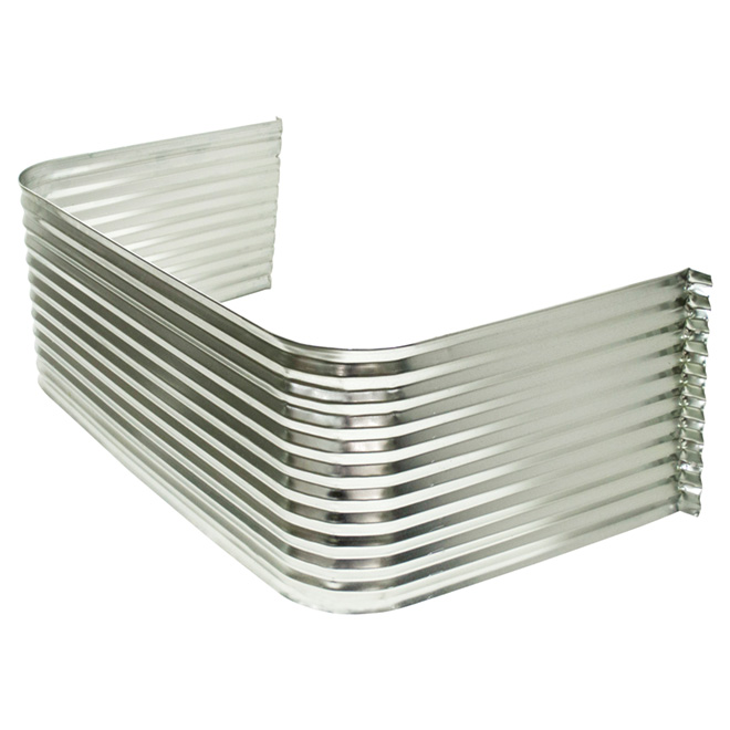 Corrugated Galvanized Steel Well for Basement Windows