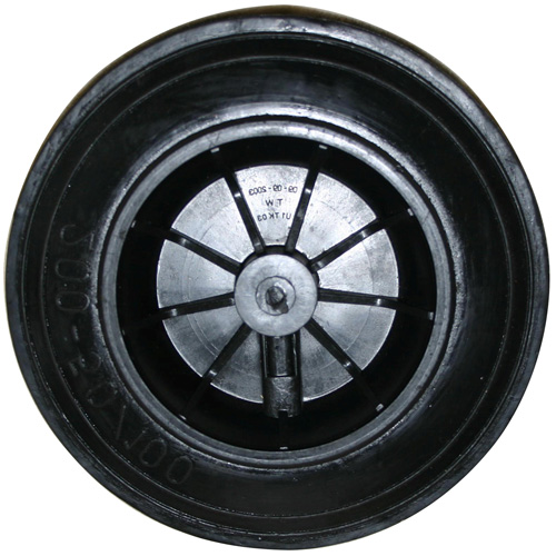"8"" Black Cart Wheel"
