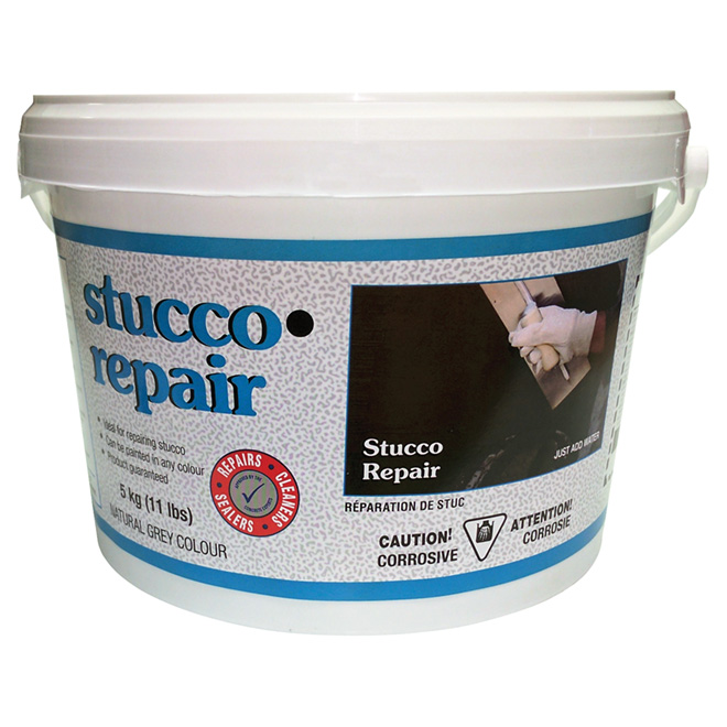 how to prepare stucco mix