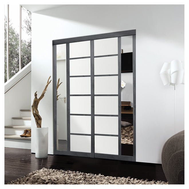 """Sibelius"" 2-Panel Sliding Door - 48"" x 80 1/2"""