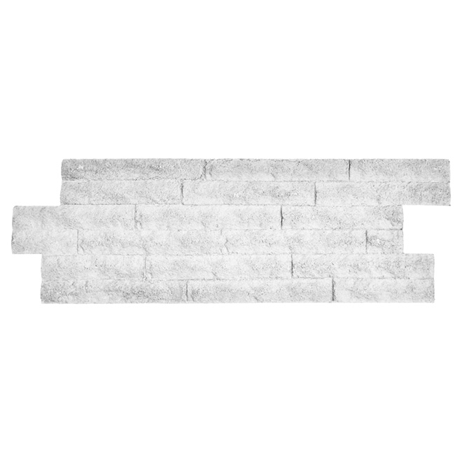 "Zephir Wall Panel - 12"" x 36"" - White"
