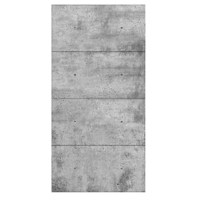 concrete look wall panel 48 x 96 grey rona. Black Bedroom Furniture Sets. Home Design Ideas