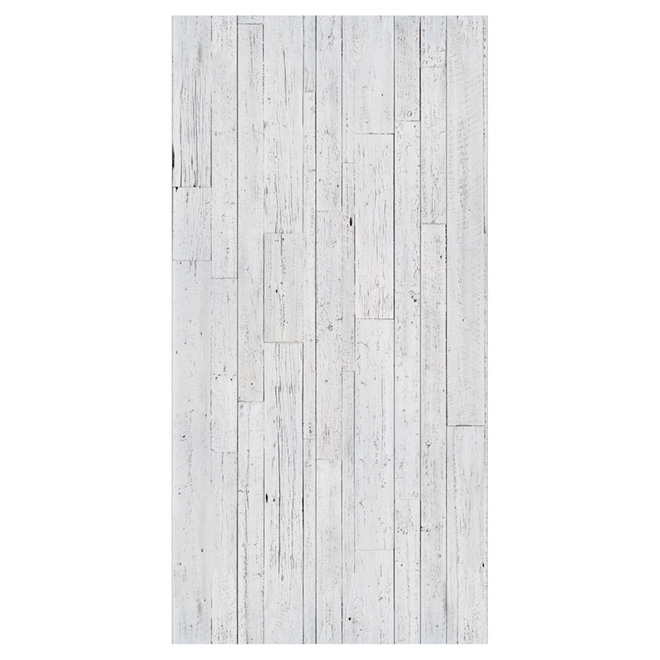 Wall Panel Wood Look 1 4 Quot X 48 Quot X 96 Quot White Rona