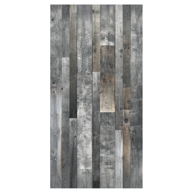 Wall Panel Wood Look 1 4 Quot X 48 Quot X 96 Quot Grey Rona