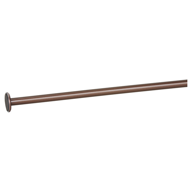 "Tension Curtain Rod - 28"" to 48"" - Oiled Bronze"